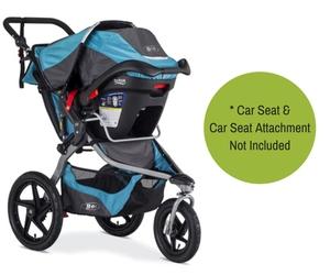 BOB Revolution Flex 2016 Review - Car Seat Attachment