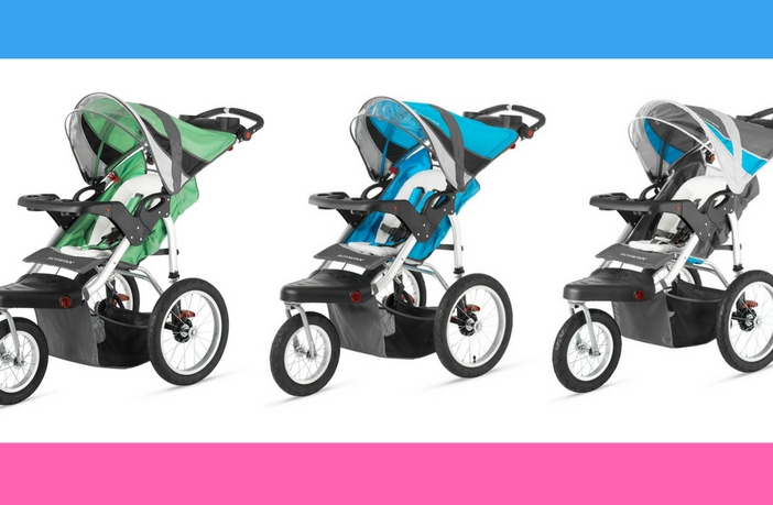 Schwinn Turismo Jogging Stroller Review - Color Options
