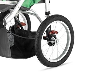Schwinn Turismo Swivel Single Jogger Review - Tires